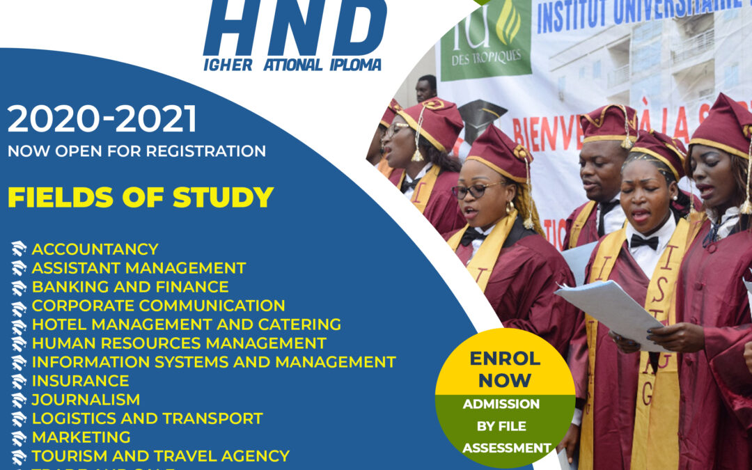 ISTAG IS LAUCHING HND PROGRAMME