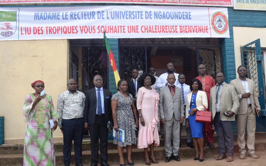 Visite de travail de Madame le Recteur de l'Université de Ngaoundéré